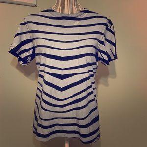 Balmain Printed Tee Shirt